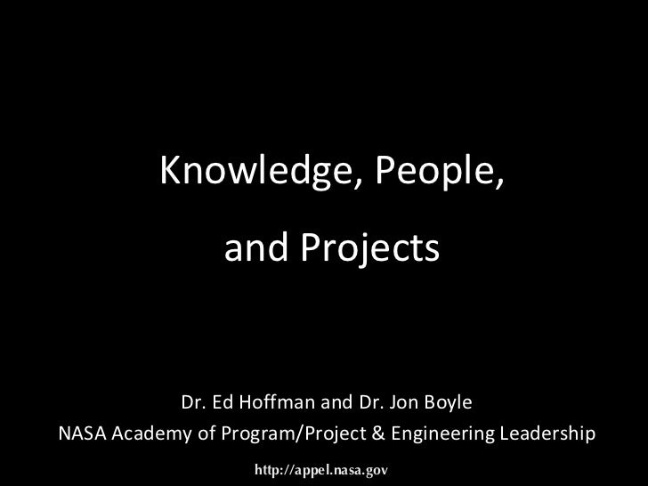 Knowledge, People and Projects