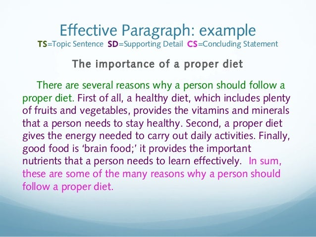 how to keep healthy paragraph