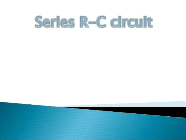 Series Rc Circuit Graph On Impedance Of Rc Series Circuit Diagram
