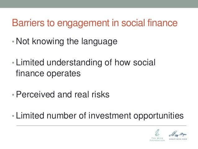 Impact Investing Seminar: Revolutionising capital markets for greater societal gains – Elena Mogilevski, Myer Foundation Slide 3