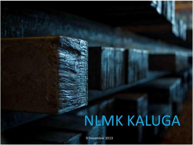 NLMK KALUGA 9 December 2013