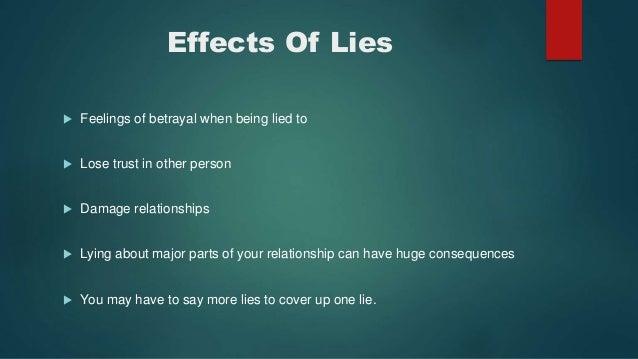 Why Do Man Lie