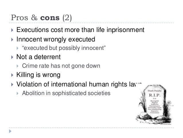 death penalty argument essay
