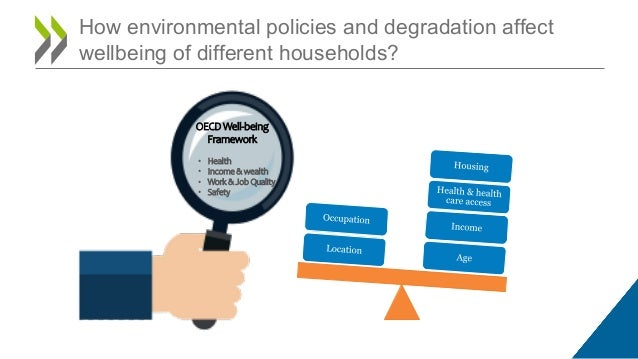 Vulnerability OECD Well-being Framework • Health • Income & wealth • Work & Job Quality • Safety How environmental policie...