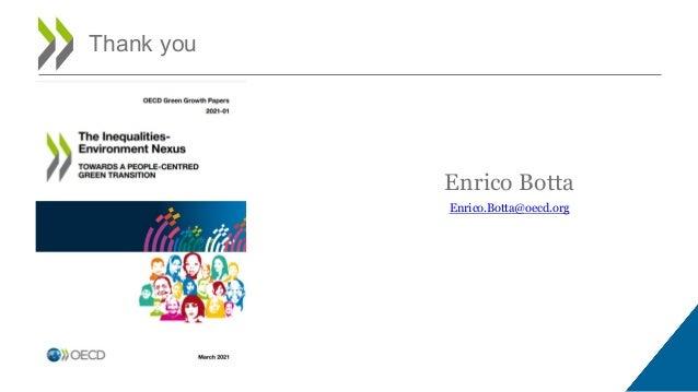 Enrico Botta Enrico.Botta@oecd.org Thank you