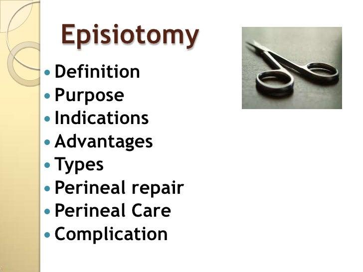 Presentation episiotomy Slide 2