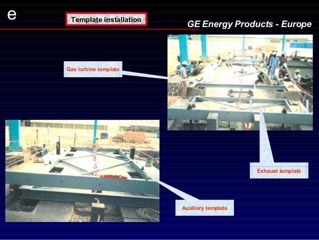 Presentation Erection Gas Turbine