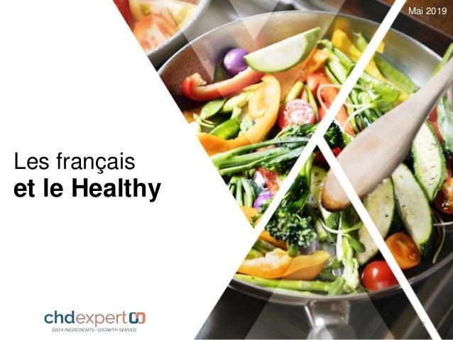 Les français et le Healthy Mai 2019 1