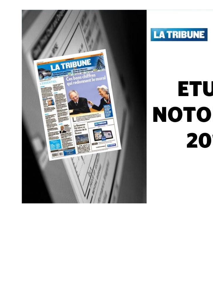 ETUDENOTORIETE   2010