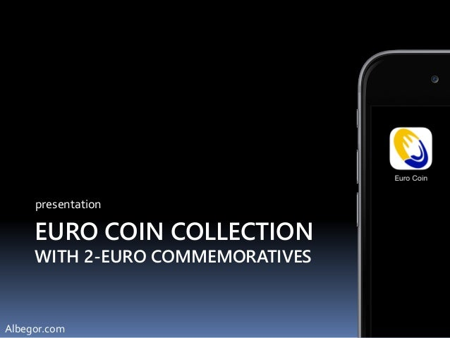 EURO COIN COLLECTION WITH 2-EURO COMMEMORATIVES presentation Albegor.com