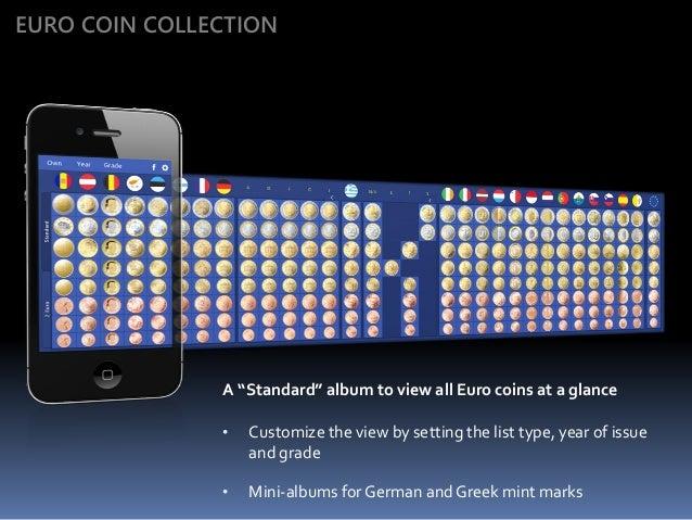 Euro Coin Collection - with 2 Euro Commemoratives Slide 3