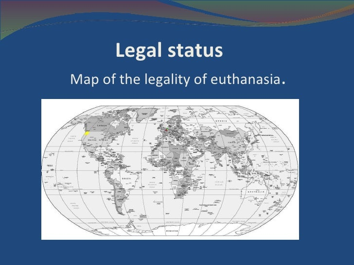 an argument in favor of legalizing active euthanasia Compare the arguments for and against euthanasia examine the pros and cons, the good and the bad, of assisted suicide  we need it - 'the compassion argument .