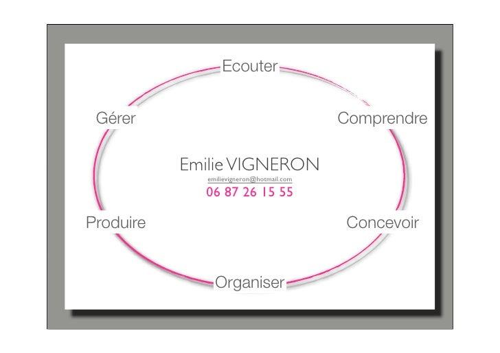 Ecouter    Gérer                                    Comprendre             Emilie VIGNERON              emilievigneron@hot...