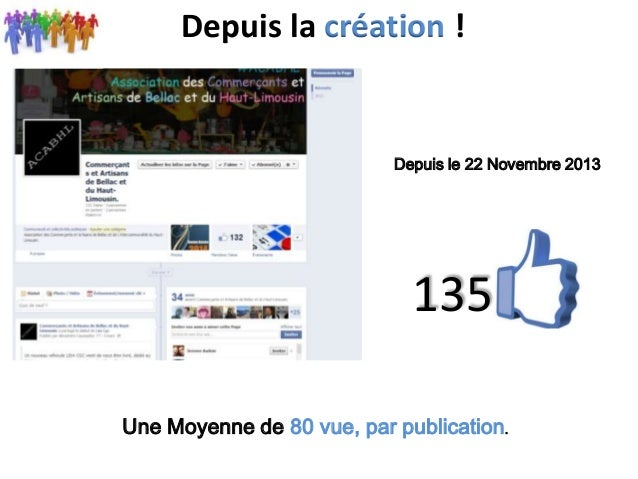 Présentation Facebook bellac Slide 3