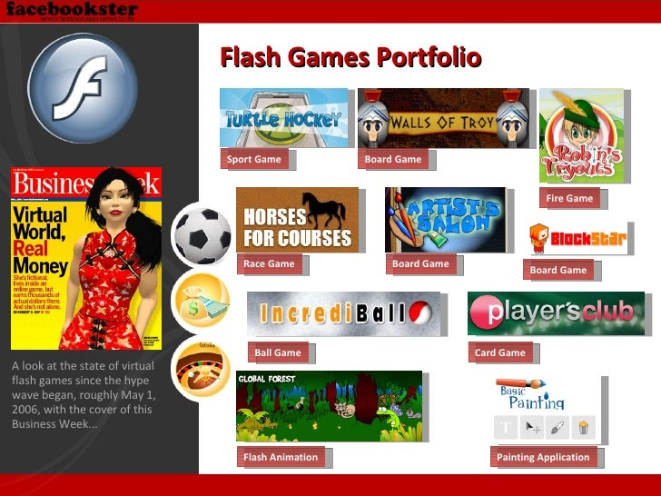Painting Application Flash Animation Board Game Race Game Board Game Flash Games Portfolio A look at the state of virtual ...