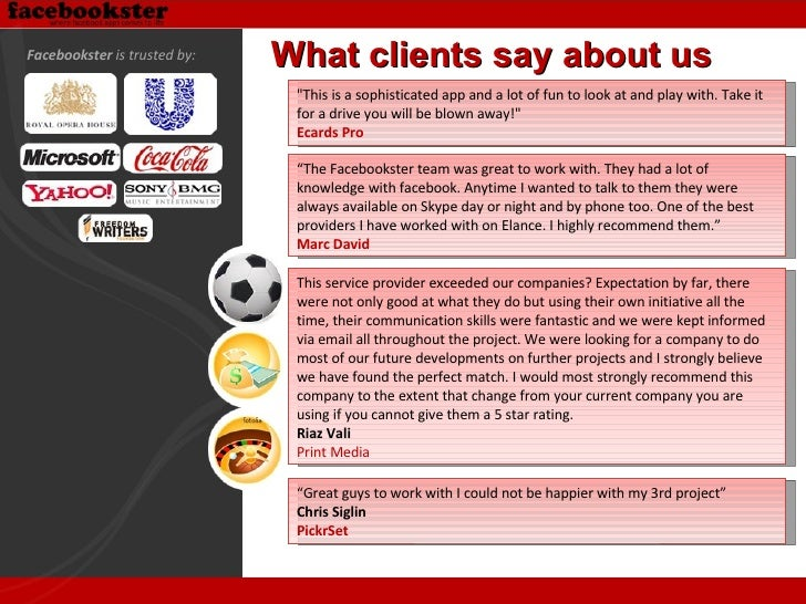 """What clients say about us """"This is a sophisticated app and a lot of fun to look at and play with. Take it for a drive..."""