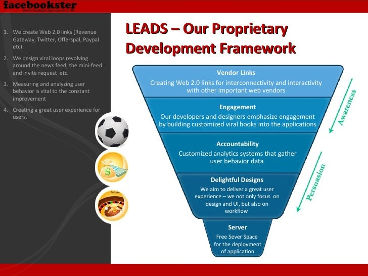 LEADS – Our Proprietary  Development Framework Vendor   Links Creating Web 2.0 links for interconnectivity and interactivi...