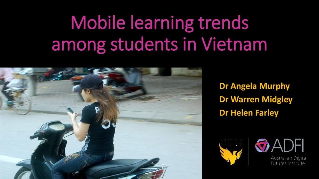 Mobile Learning Trends among Students in Vietnam