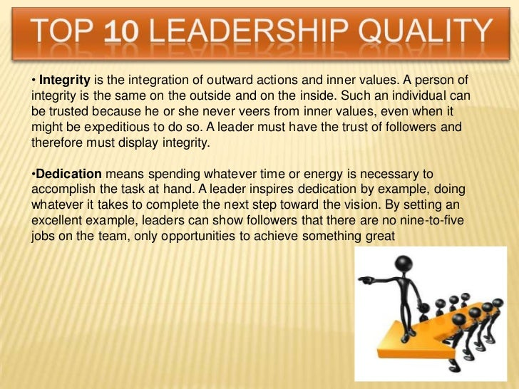 essay on leadership and team building