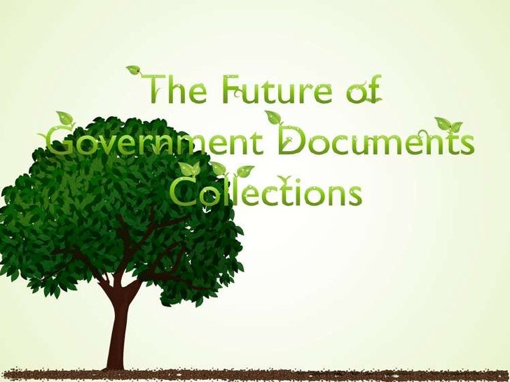 • State of federal  depository libraries• Causes & Affects• Outcomes• University of Maryland,  College Park in 5 years• Co...