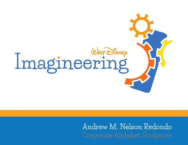 Walt Disney Imagineering Corporate Alphabet Sculpture
