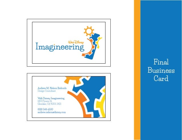 Walt disney imagineering corporate alphabet sculpture business card concepts 11 colourmoves