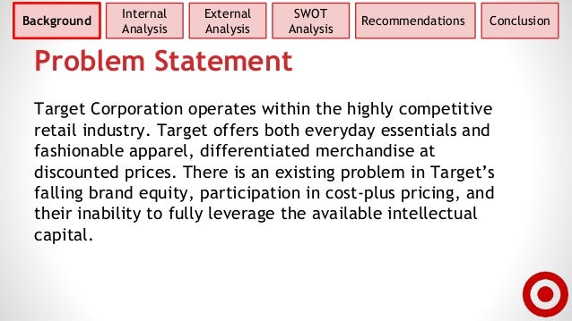 target corporation final Our take on the overall position and growth potentials of the target corporation.