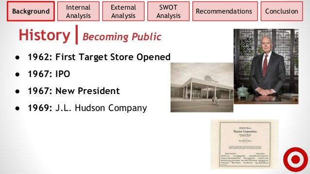 a company analysis dayton hudson corporation Dayton company merged with detroit-based jl hudson company to form dayton-hudson corporation which consisted target was dayton-hudson's top revenue.