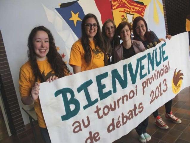 Merci à la  4e Tournoi    Polyvalenteprovincial de   Louis-J.-      débats    Robichaud!