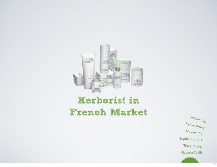 Herborist in French Market          Jord                            an L                               iu                 ...