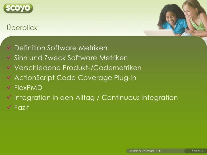 Software Metrics and Continuous Integration Slide 3