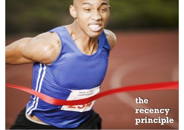 the recency principle