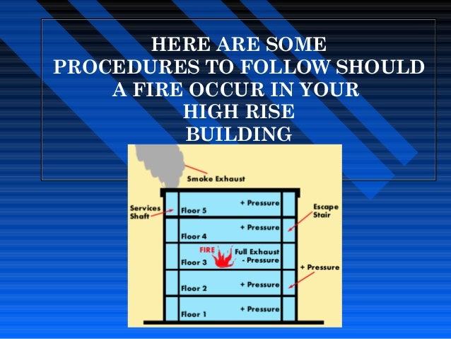 Presentation Fire Procedures