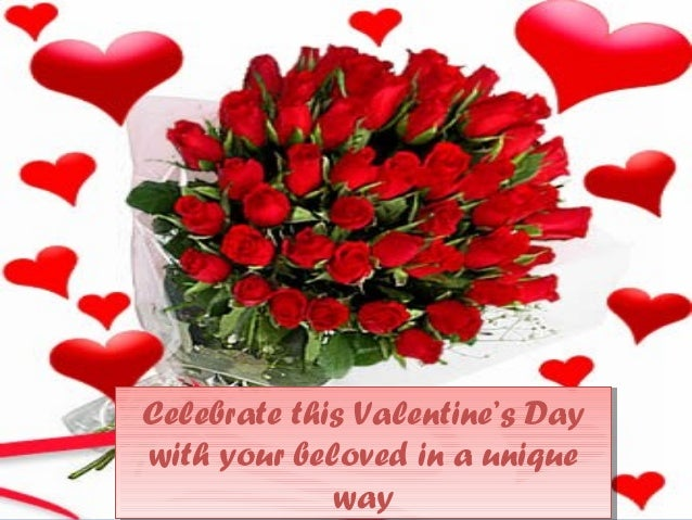 celebrate valentine's day with beautiful flowers! 2014, Ideas
