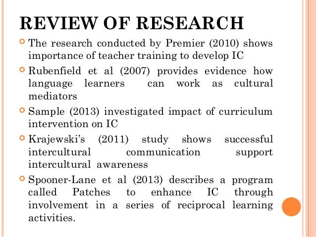 developing intercultural competence of prospective teachers of english