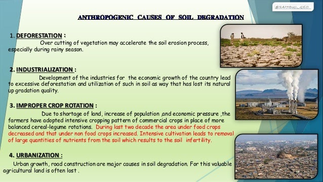causes and effects of watershed degradation Pesticides and fertilizers can also get into a region's water system and pollute it drinking water is contaminated some residing in third-world countries are highly effected by the degradation of our planet and these unhealthy practices cause the following.
