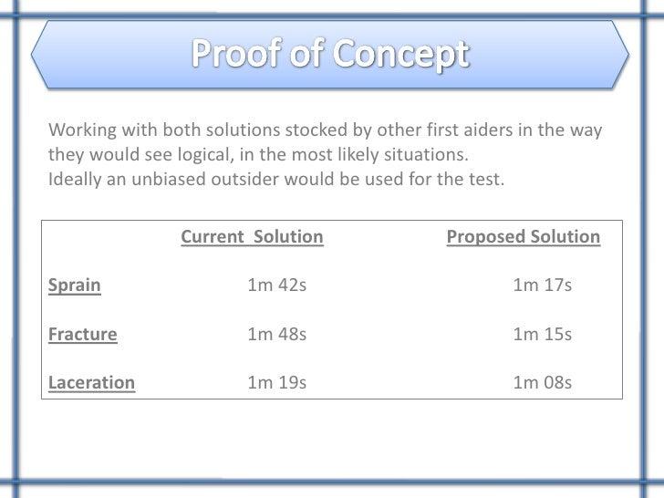proof of concept presentation on concept, Presentation templates