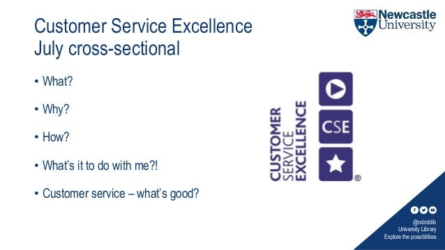 Service excellence presentation