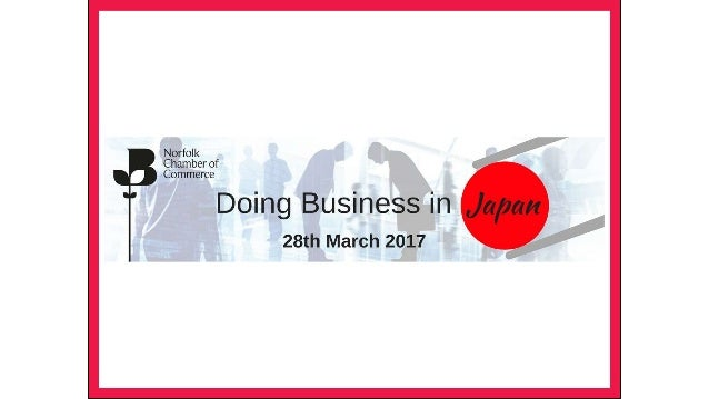 doing business in japan slideshow