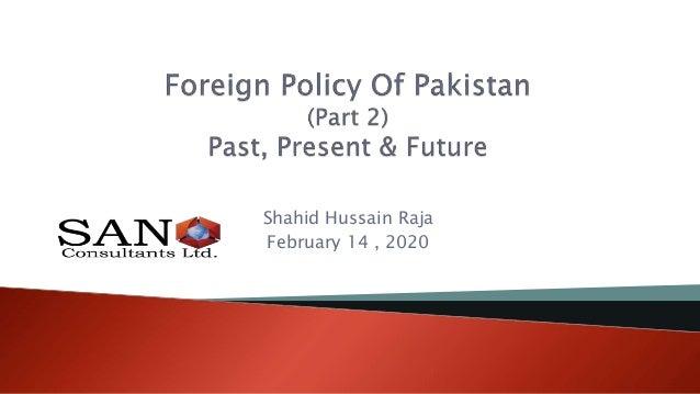 Shahid Hussain Raja February 14 , 2020