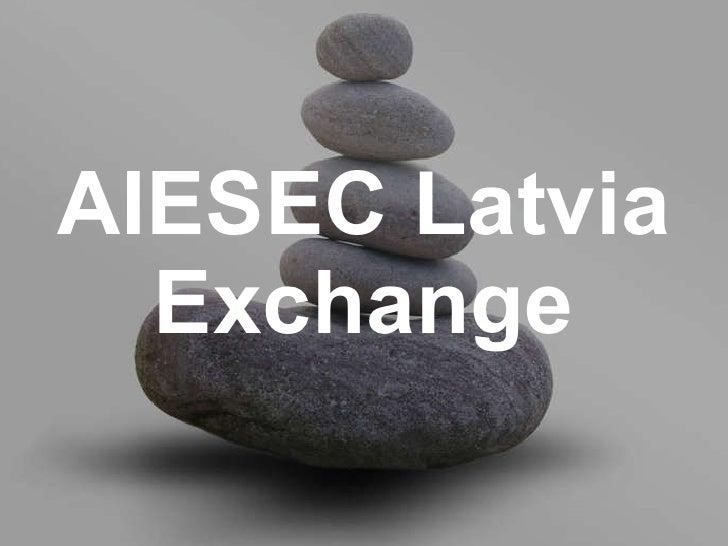 AIESEC Latvia Exchange
