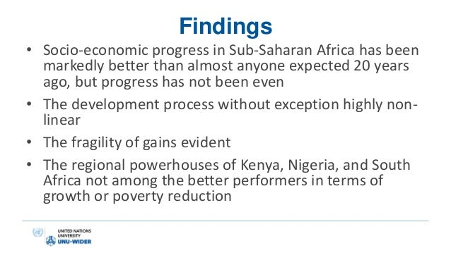poverty in sub saharan africa essay Economic research papers country department - east poverty reduction in sub-saharan africa: is there a role for the private sector economic research papers.