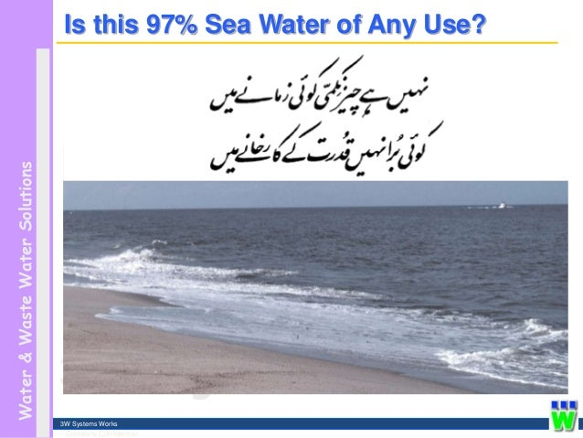 the importance of water desalination The impacts of relying on desalination for water if the ocean were tapped as a source of fresh water, what impact would that have on the environment.