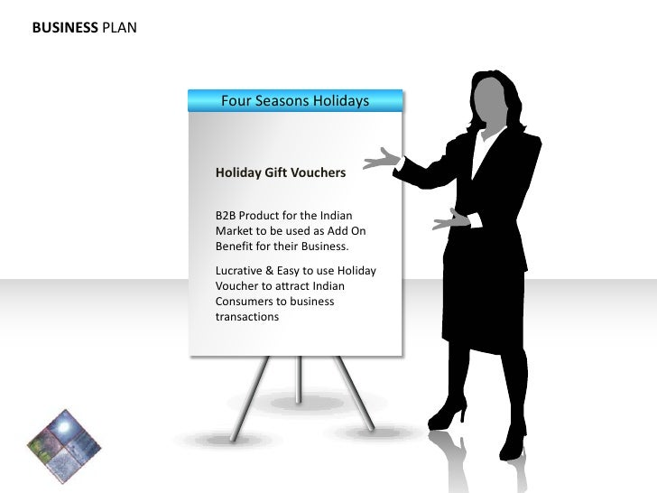 BUSINESS PLAN Four Seasons Holidays Holiday Gift Vouchers B2B Product for the Indian Market to be used as Add On Benefit f...