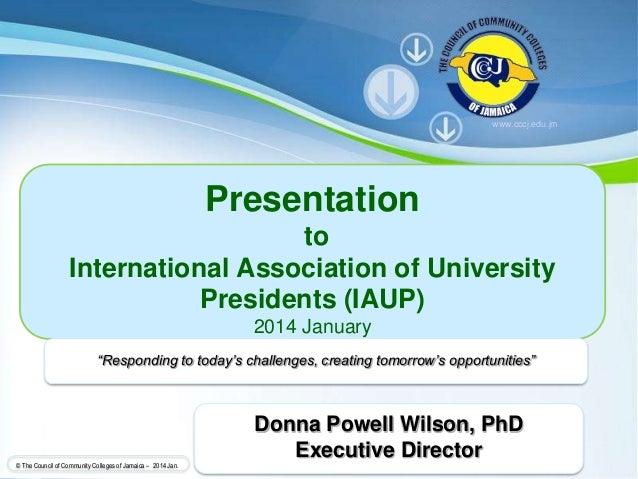 Cccj presentation to the international association of university pres powerpoint templates page 1 powerpoint templates the council of community colleges of jamaica 2014 toneelgroepblik Choice Image