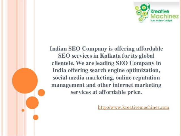 Indian SEO Company is offering affordable SEO services in Kolkata for its global clientele. We are leading SEO Company in ...