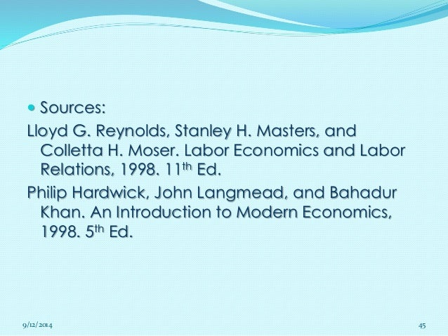 An introduction to modern economics by philip hardwick