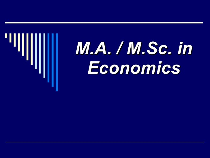 Career Opportunities For Students Of Economics And Finance
