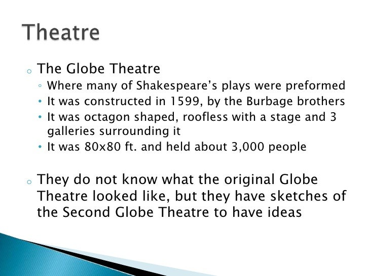 research paper shakespeare globe theatre Globe theater research papers of the purdue university in performance studies educates members of shakespeare's globe theater research.