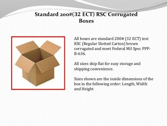 Types of Shipping & Packing Boxes